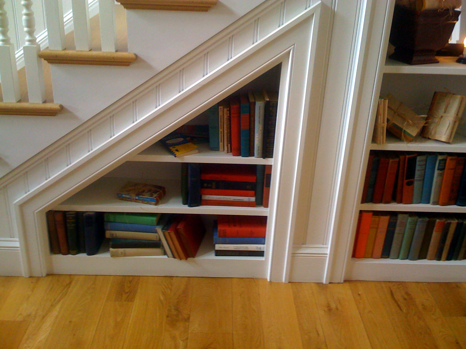Under Stairs Bookcase Dream Under Stairs Bookcase 17 Designs Home Living Now