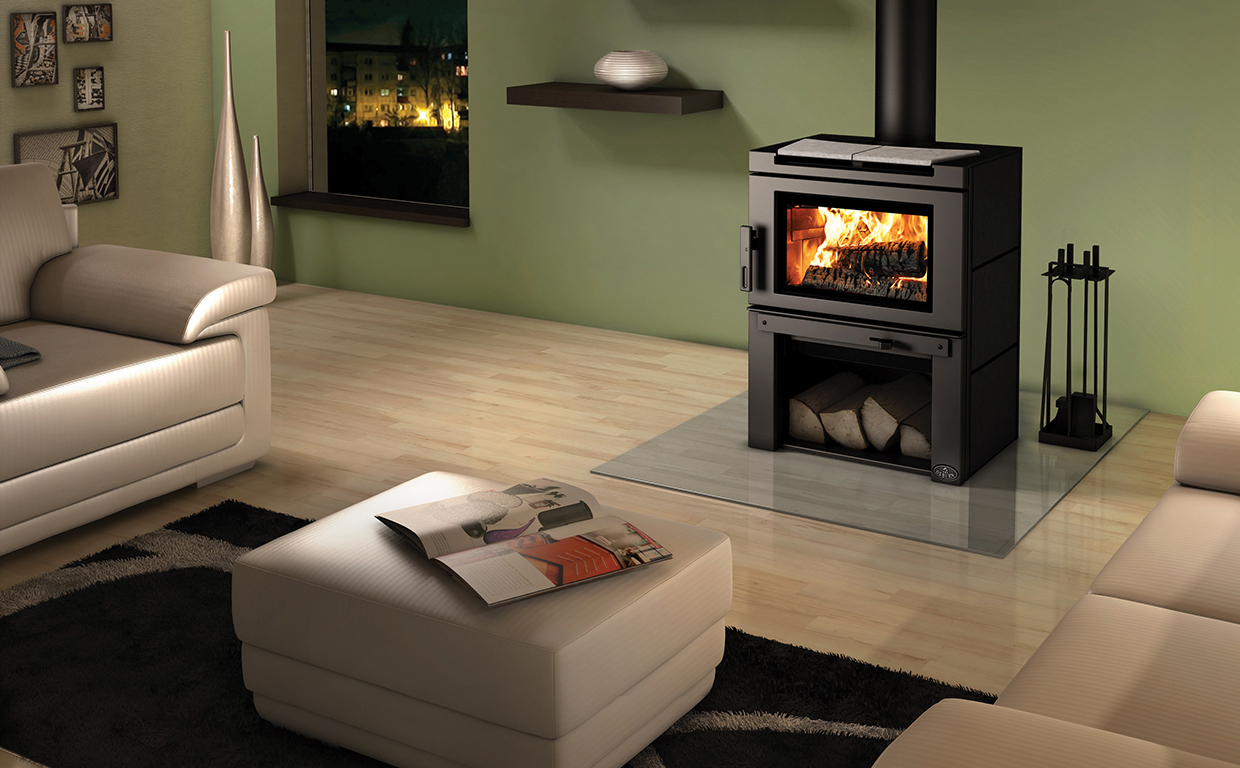 Insert Double Combustion Matrix Wood Stoves Osburn