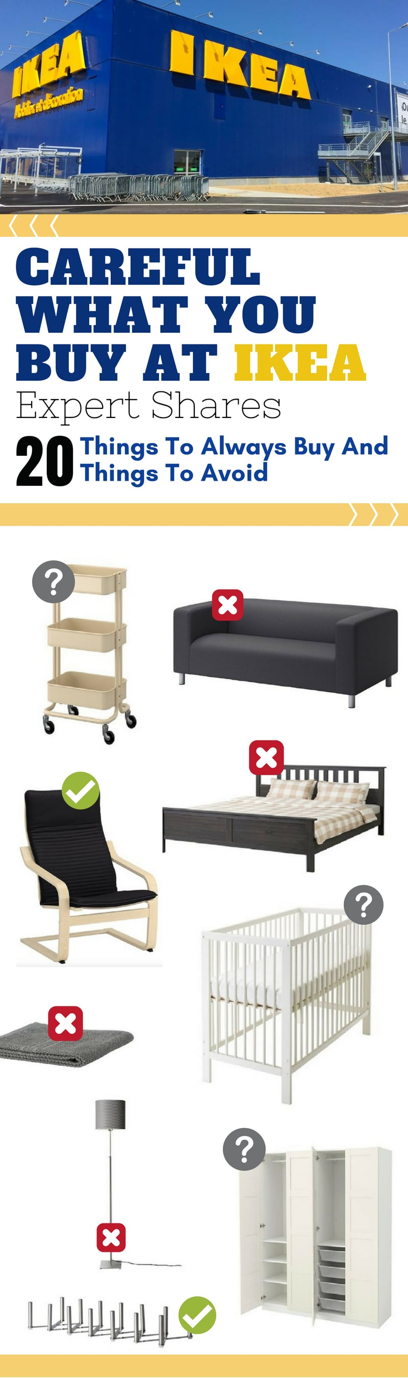 Ikea Bank Bad Things To Buy And Avoid At Ikea