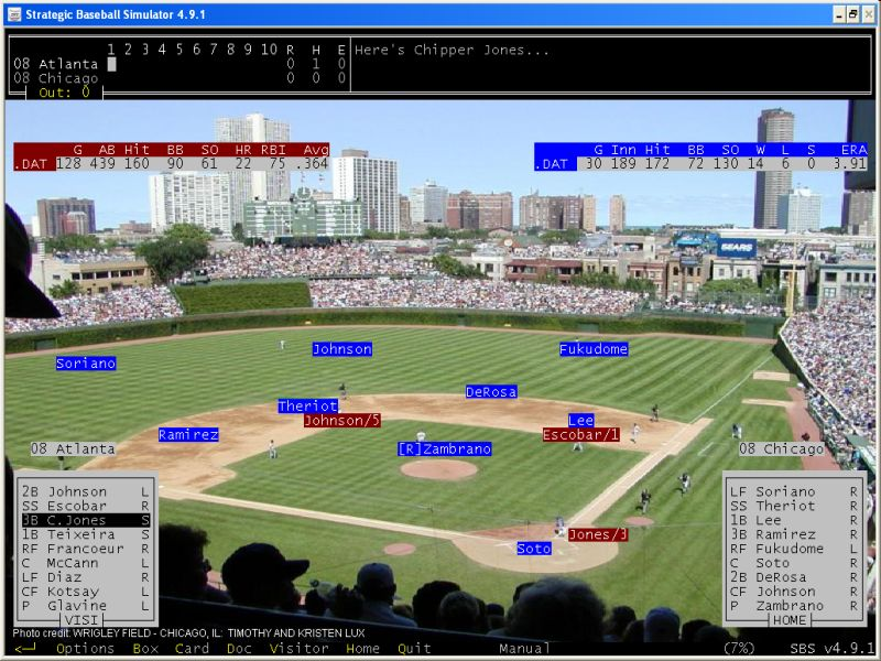 Strategic Baseball Simulator by David Schmidt Baseball Simulation
