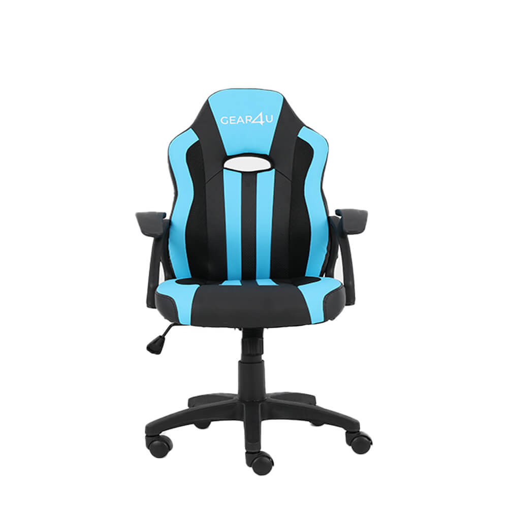 Gear4u Junior Hero Gaming Stuhl Blau Schwarz