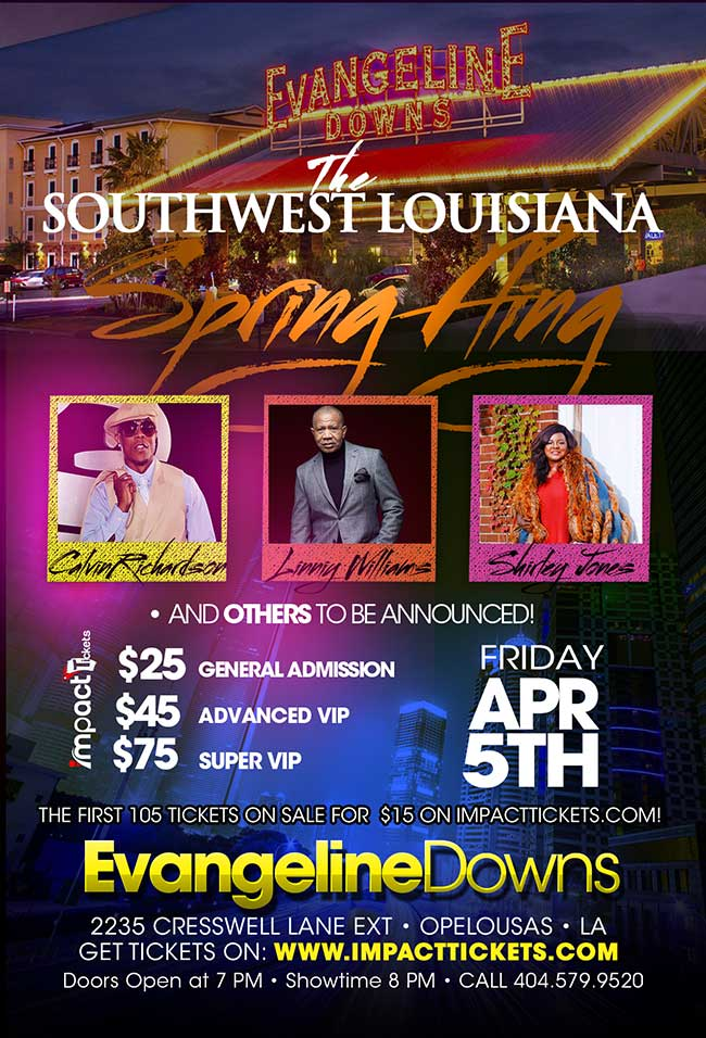 Tickets for The Southwest LA Spring Fling in Opelousas from Impact