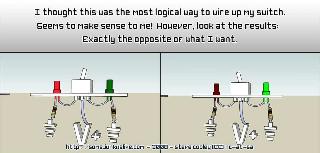 2 wire toggle switch diagram