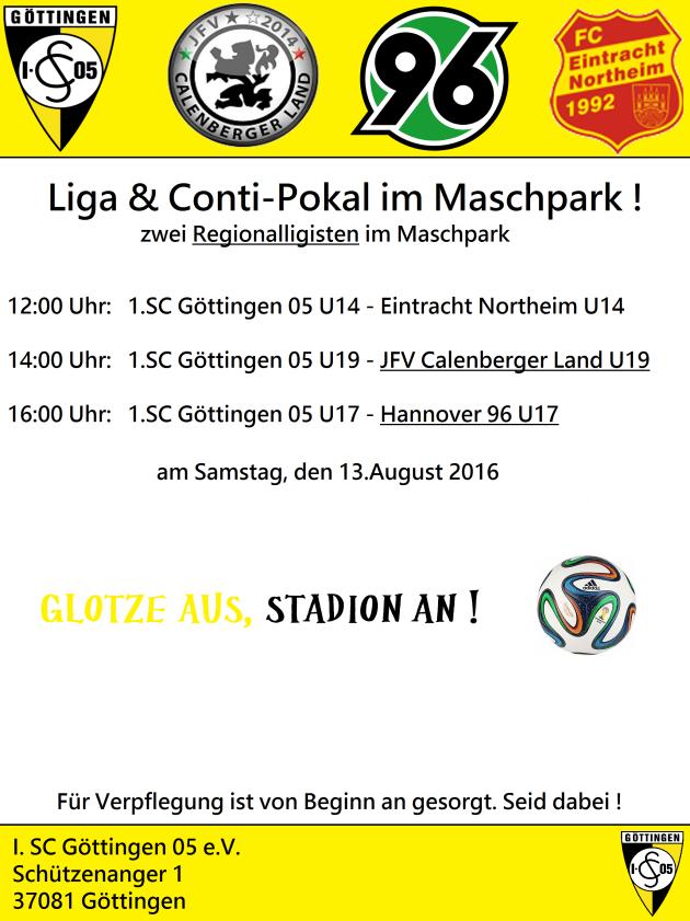 Conti-Cup im Maschpark