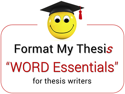 Tickets for WORD Essentials for Thesis Writers in Bentley from - how to make tickets on word
