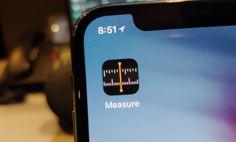 iOS 12 Apple Measure app preview