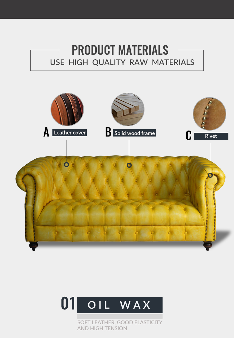 Comfortable Contemporary Relaxing Home Livingroom Furniture Relaxing Studio 2 Seater Love Yellow Chesterfield Leather Sofa Couch Buy Home Couch Chesterfield Leather Couch Yellow Couch Product On Alibaba Com