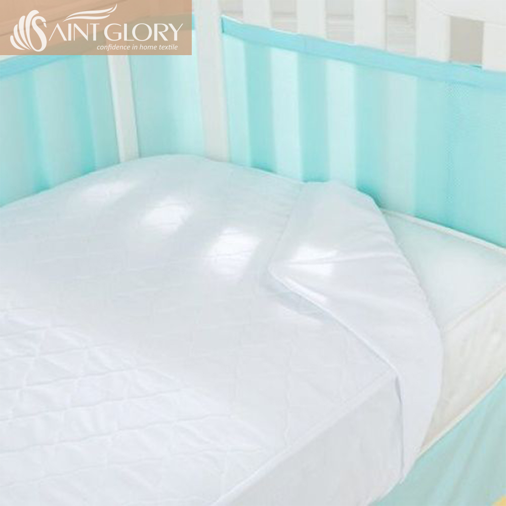 Toddler Mattress Vs Baby Mattress Toddler Sheet Mattress Pad Crib Fitted Cover Baby Waterproof Mattress Protector With Elastic Skirt Around Buy Baby Mattress Protector Mattress