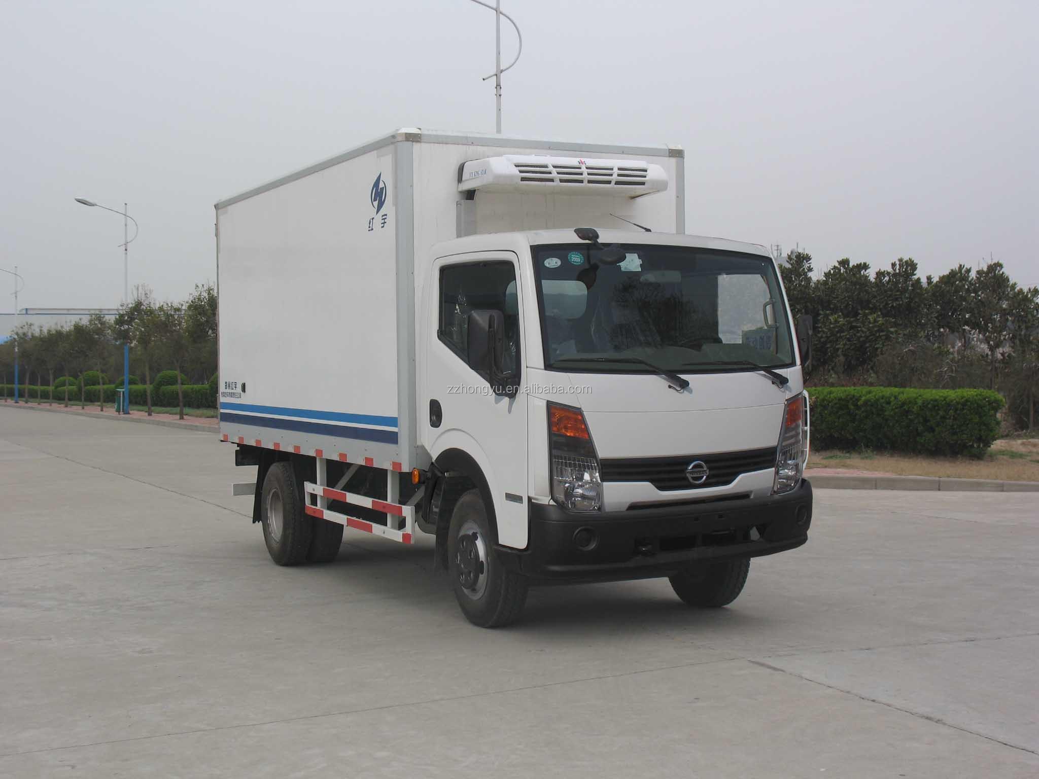 Cheap Dongfeng Refrigerator Freezer Truck Light Freezer