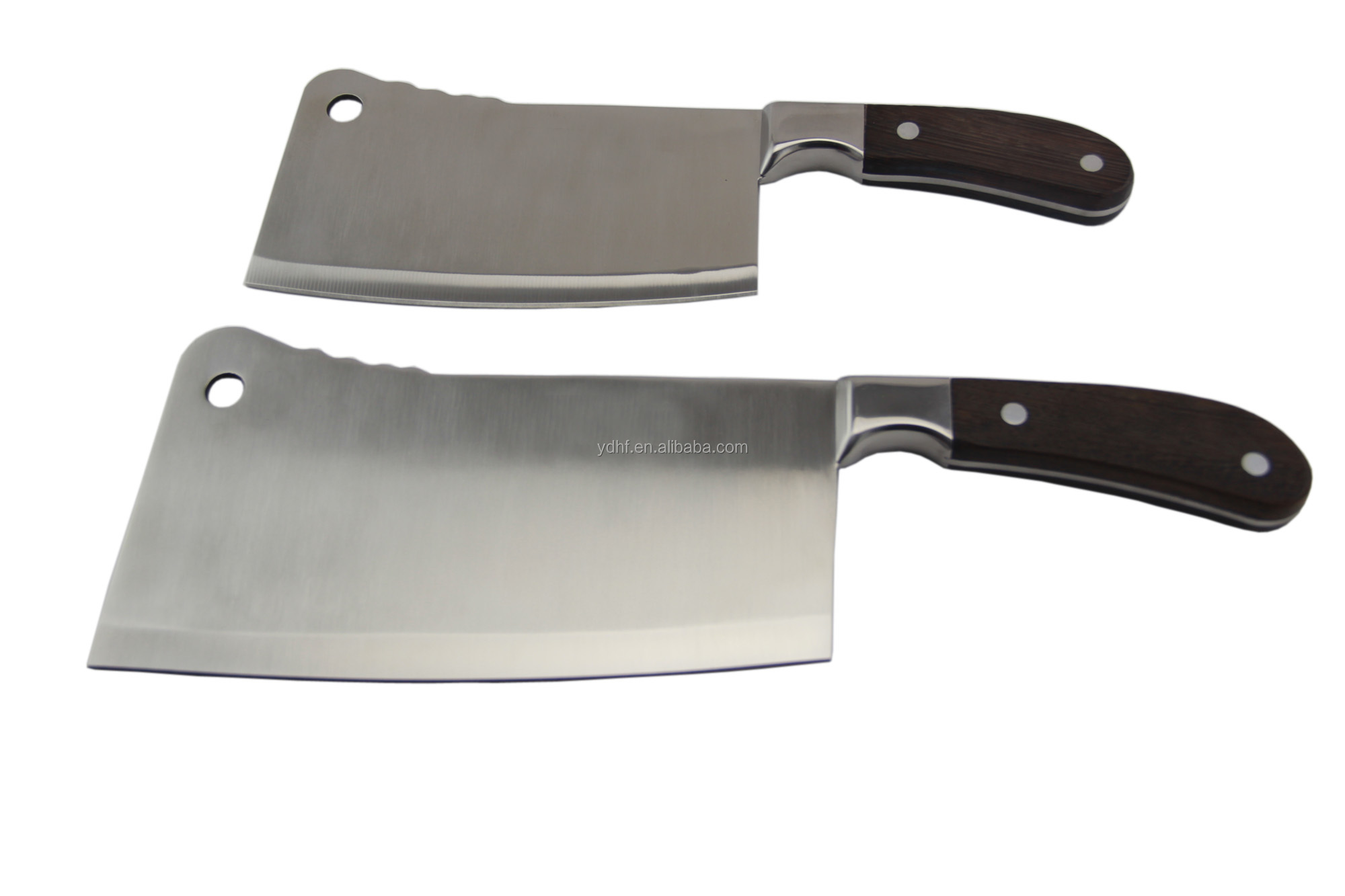 Chopping Knife Set Wooden Handle Chopper Knife Chinese Knife Set Butcher