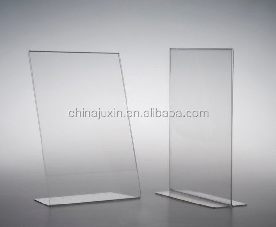 Clear Acrylic 6 Panel Table Tent Displays 5 X 7 Inch Buy