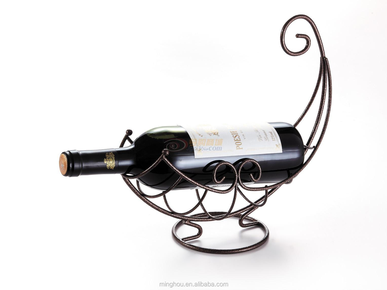 Decorative Metal Wine Racks Unique Nest Metal Wine Bottle Holder Boat Shape Wine Rack Buy Metal Crafts Wine Bottle Holder Metal Single Wine Bottle Holder Antique Decorative