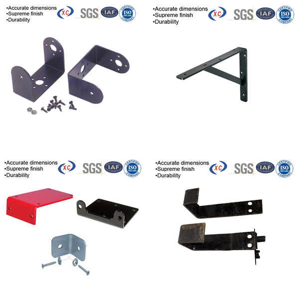 Custom Powder Coating Steel U Bracket Types Of Metal