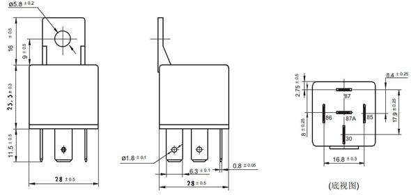 Zt603 12v 24v 4pin 5pin 12 Volt Relay 2 Coil Latching Relay - Buy 2