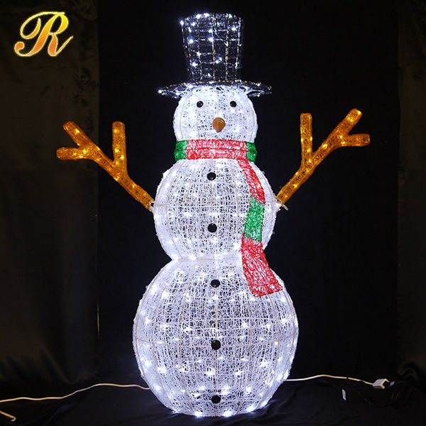 Led Weihnachtsbeleuchtung Außen Christmas Mall Decorations Lighted Snowman Indoor Outdoor