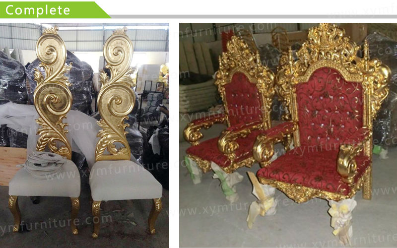 Luxury Wooden Frame King Throne Chairs Xym H91 Buy