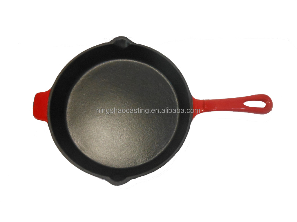 Cast Iron Frying Pan Cast Iron Enamel Round Frying Pan Buy Cast Iron Frying