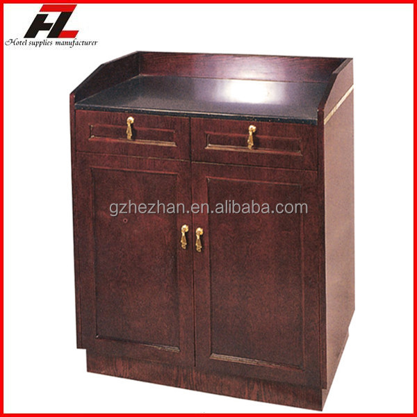 Reception Counter for Restaurant / High Quality Hotel Host Stations