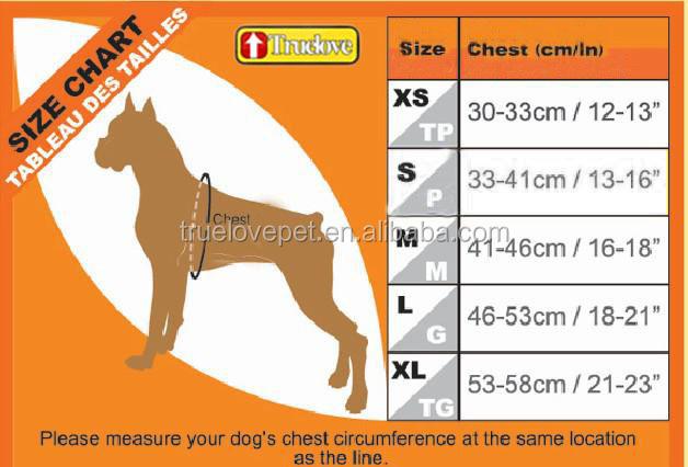 Truelove Sports Style Pattern Easy Walk Dog Harness Vest, View Dog