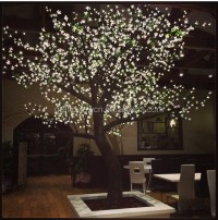White Artificial Nature Led Cherry Blossom Tree Light For ...