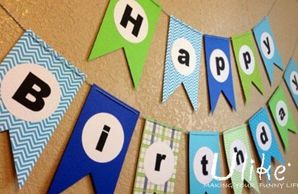 Paper Letter Banner For Valentine,Wedding,Anniversary - Buy Paper