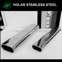 in acciaio inox mezzo tubo tondo-Acciaio inossidabile-Id ...