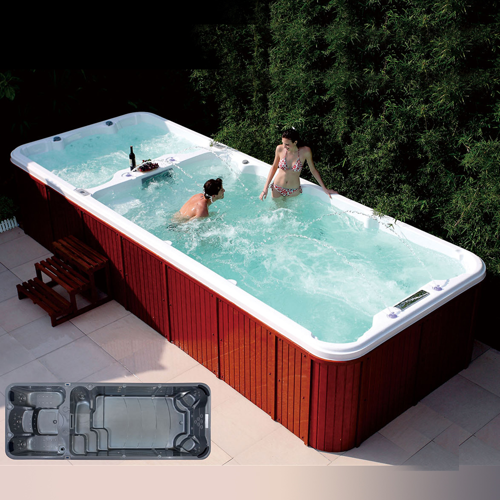 Whirlpool Outdoor Swim Spa Hs S06 Family Outdoor Garden Sexy Massage Whirlpool Swim Spa For Adults Buy Whirlpool Swim Spa Sexy Massage Whirlpool Swim Spa Outdoor Garden Sexy