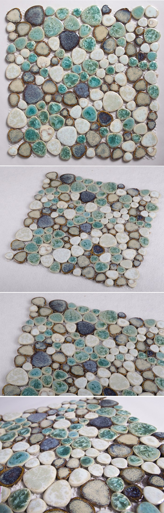 Cash Pool Shell Tm1005 Mosaic Floor Pattern/abalone Tile/shell Mosaic Tile