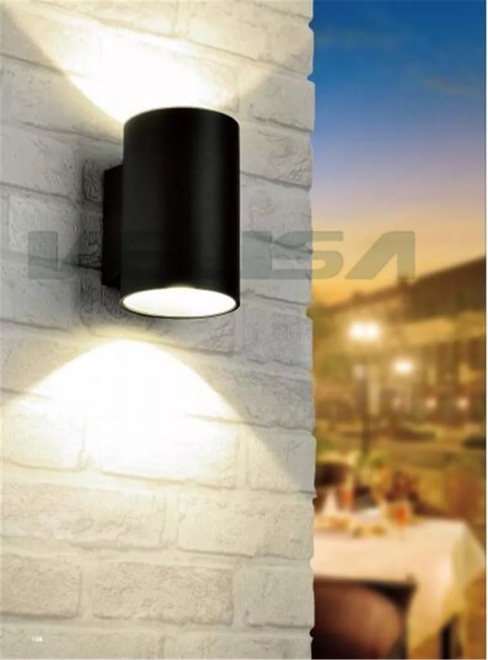 Applique Murale Exterieur Led Élégant Haute Puissance Extérieur Haut Et Bas Applique Murale Applique Murale Ip65 Extérieur Led De Paquet De Mur Buy Applique Murale