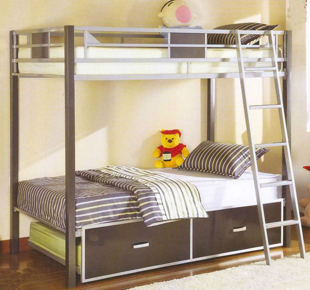 Goedkoop Stapelbed Iron Frame 4 People Bunk Beds,big Size 4 People Bunk Beds