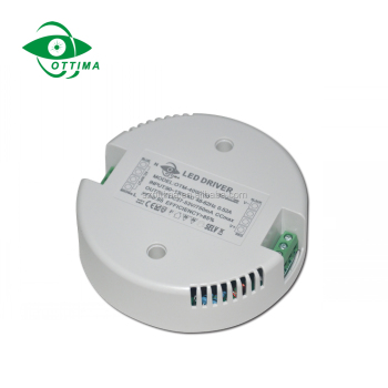 Ottima Round Shape Led Driver 350ma Dimmable Led Switching Power