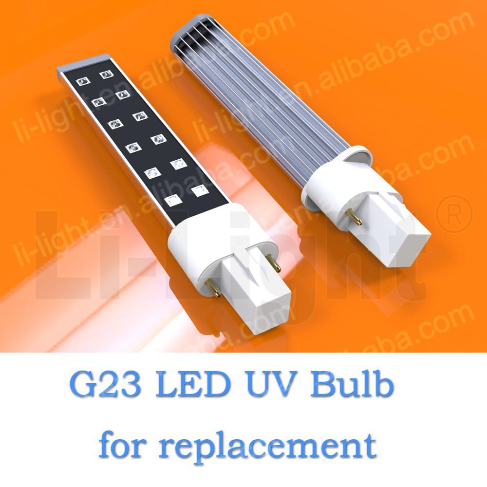 Led G23 Quicker Curing Led Uv Replacement G23 Bulb 9w Nail Led Lamp Light Buy Led Uv Replacement Bulb 9w Nail Led Lamp Light Replacement G23 Bulb Led Nail