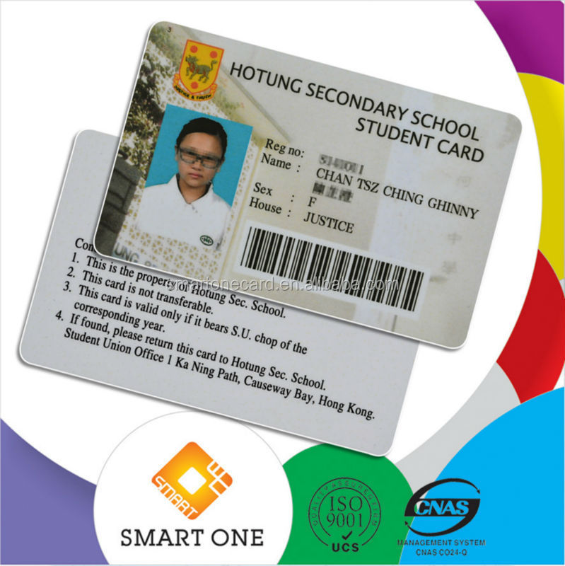 school id card design format with barcode, View pvc id cards mumbai