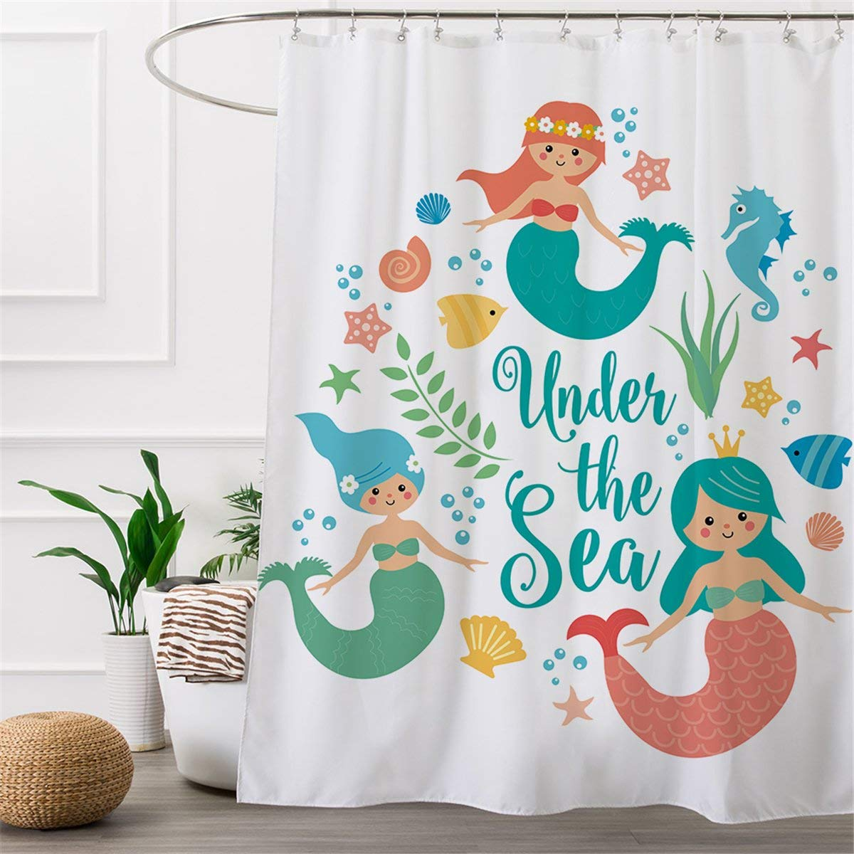 Ariel Shower Curtain Cheap Mermaid Shower Curtain Find Mermaid Shower Curtain Deals On