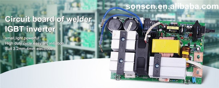 Welding Machine Spare Parts Circuit Of Inverter Welding Pcb Board
