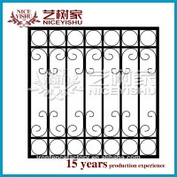 Child Proofing Wrought Iron Window Guard/flat Top Wrought ...