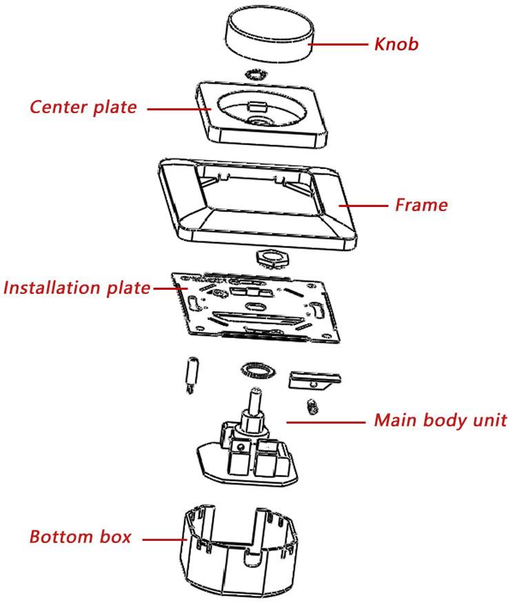 wiring a european light switch