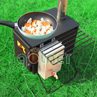 The best portable stainless steel wood burning camping stove