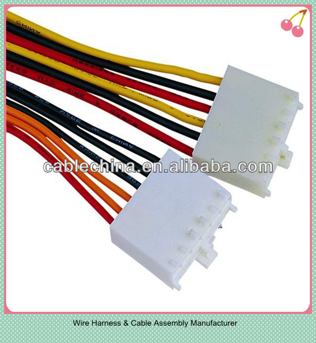 4pin 20mm Molex Replacement Automotive Wiring Cable Harness - Buy