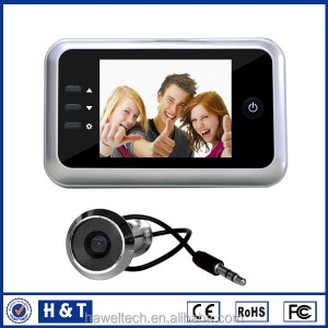 DVR arabic 4.3 inch peephole door viewer camera With Recording
