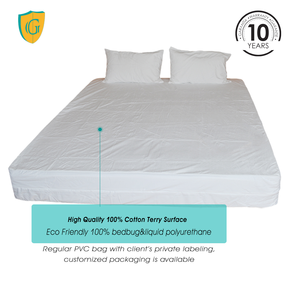 Bed Bugs Mattress Cover 100 Noise Free Zippered Bed Bug Mattress Cover Buy Mattress Cover Bedbug Mattress Cover Waterproof Mattress Cover Product On Alibaba