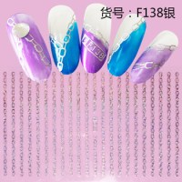 Paper Holiday Nail Sticker Decals Water Slide Nail Art ...