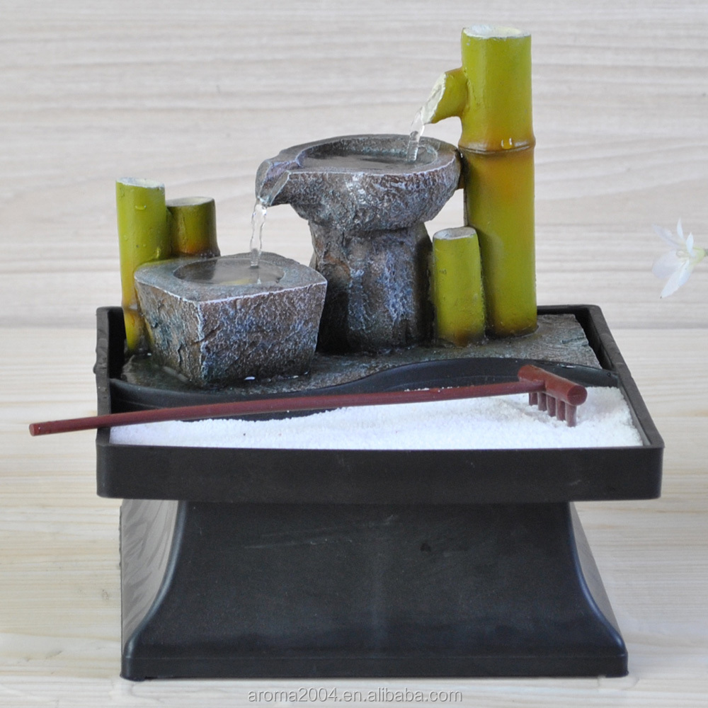 Table Top Zen Garden Tabletop Zen Garden Indoor Japanese Water Fountain Buy Japanese Water Fountain Zen Garden Fountain Polyresin Zen Fountain Product On Alibaba