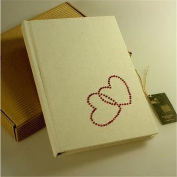 Simple Love Design Cardboard Paper Diary - Buy Cardboard Paper