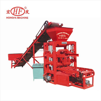 Improved Models Hongfa Hfb532m Automatic Material Feeding Concrete - mechanical equipments list