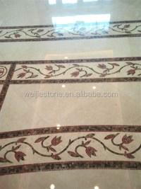 Hotel Lobby Marble Mosaic Flooring Border Design - Buy ...