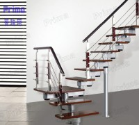Inside Steel Wood Floating Staircase With Stainless Steel ...