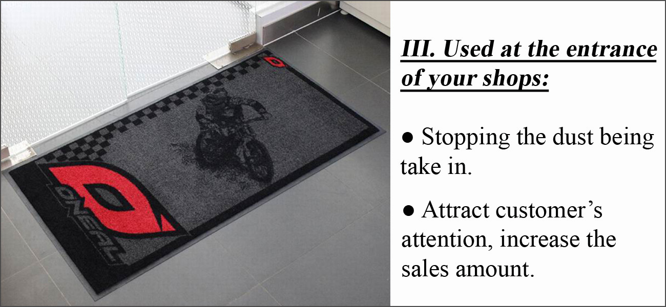 Motorcycle Mat Buy Motorcycle Matlogo Door Matprinted