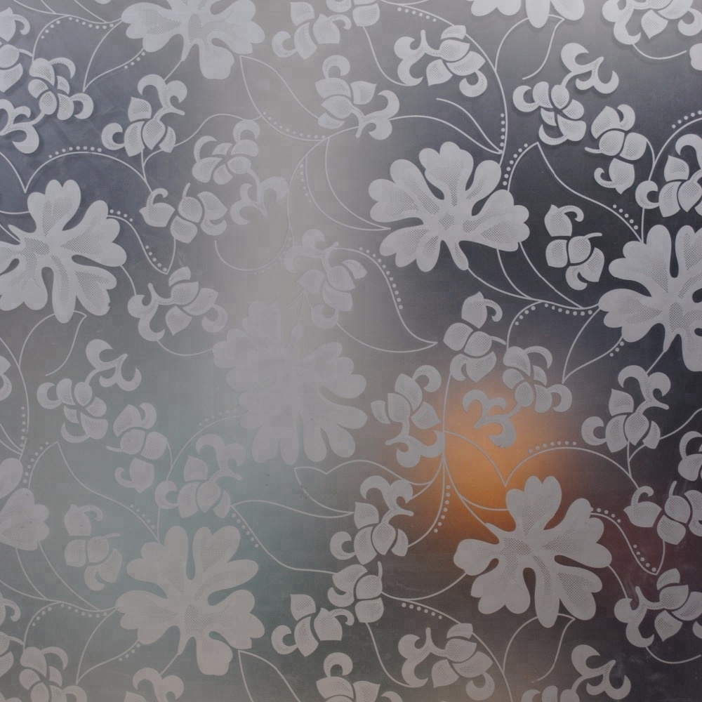 Patterned Glass Customized Sizes Decorative Obscure Frosted Patterned Glass For Fence Panels Buy Many Patterns Of Frosted Glass Frosted Glass For Door