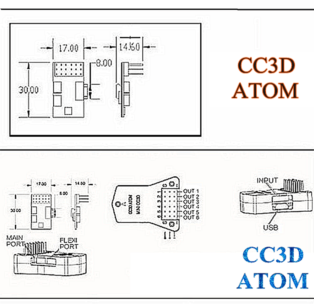 cc3d to receiver wiring diagram